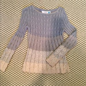 Cozy Cable Knit Sweater from Anthropologie